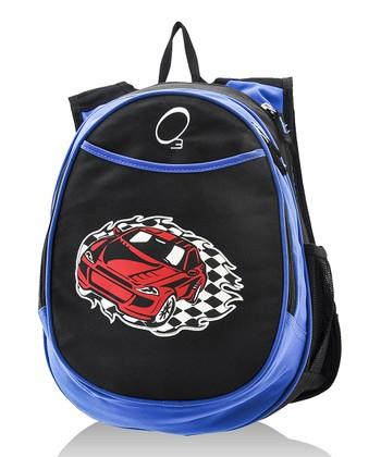 Blue Racecar All-in-One Backpack