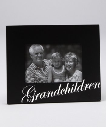 Foil-Stamped 'Grandchildren' Frame