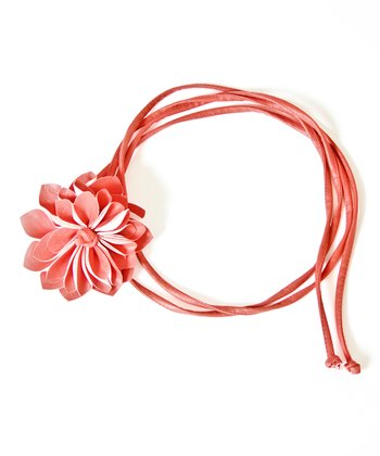 Watermelon Flower Bump Belt - Women
