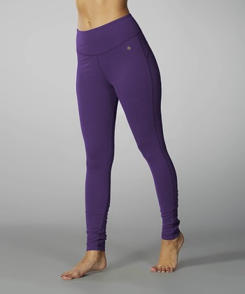 Royal Purple Tummy Control Dry-Wik Leggings