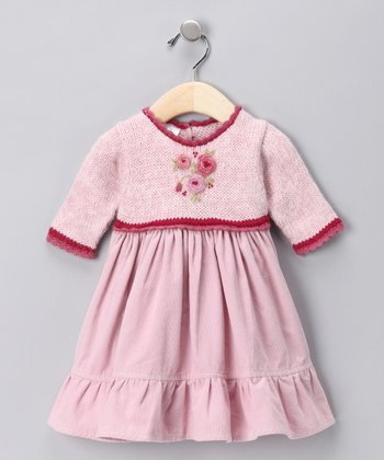 Pink Knit Dress - Infant & Toddler