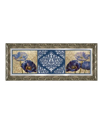 Regal Floral Mirrored Wall Art