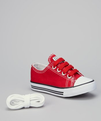 Red & White Sneaker