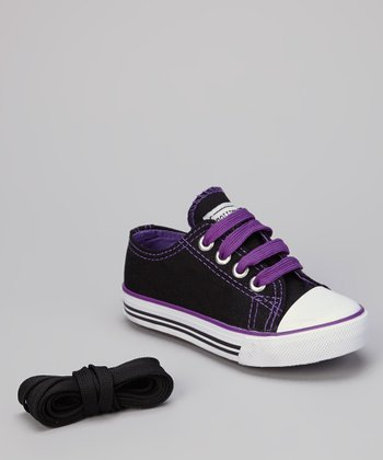 Black & Purple Sneaker