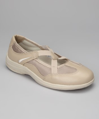 Sand Sapphire Slip-On Leather Shoe