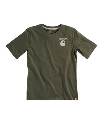 Green Outdoors Tee - Boys