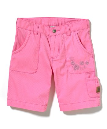 Pink Bermuda Shorts - Girls