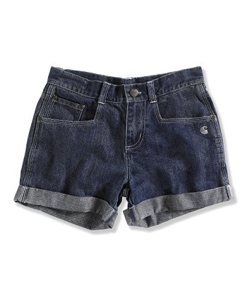 Light Fade Denim Shorts - Girls