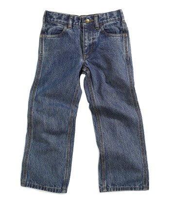 Light Wash Denim Dungaree Jeans - Infant
