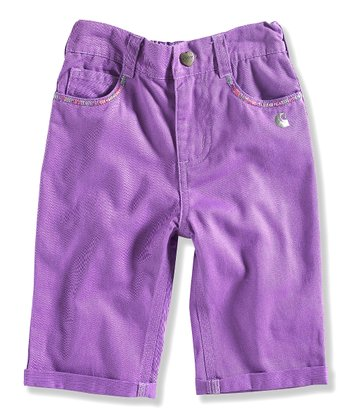 Purple Capri Pants - Toddler