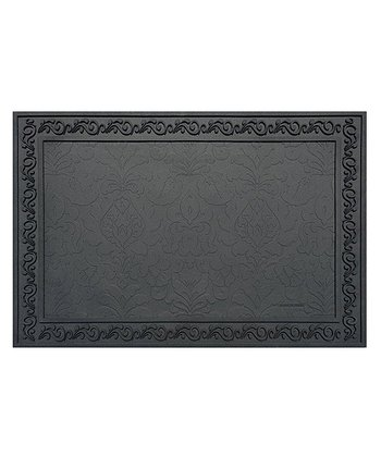 Black Basic Doormat Tray