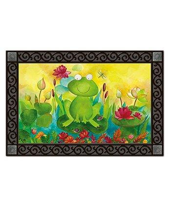 Blooming Frog Pond  MatMate Doormat/Inset