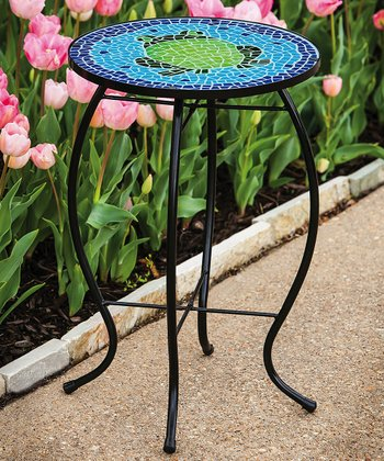 Extraordinary Frog Mosaic Table