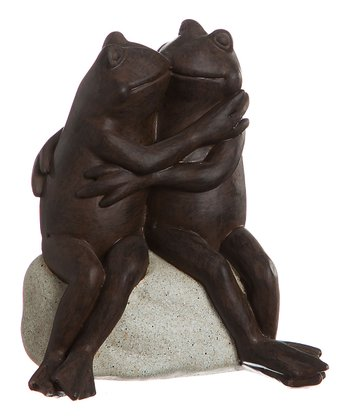 Frog Embrace Statue
