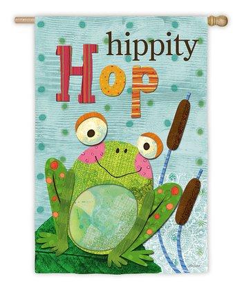 'Hippity Hop' Garden Flag