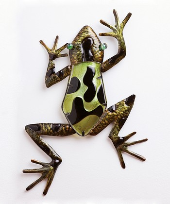 Crawling Frog Wall Art