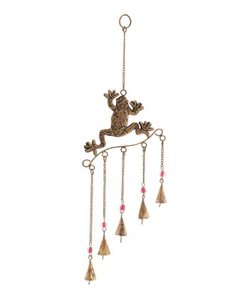 Bronze Frog Wind Chime