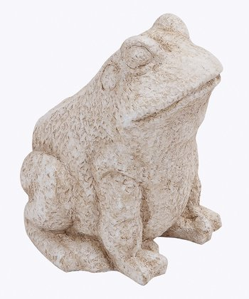 Sitting Frog Statue