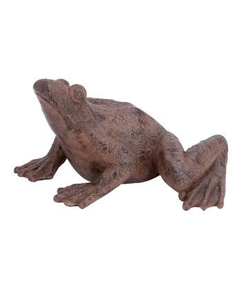 Brown Bullfrog Figure