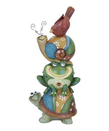 Frog & Friends Garden Statue
