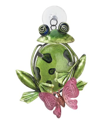 Green Frog Sun Catcher