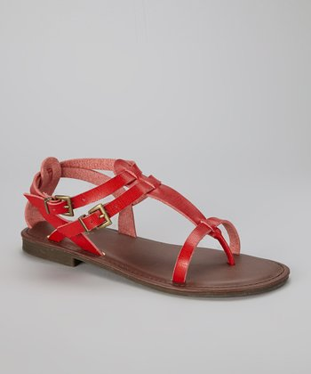 Red Cable-14 Sandal