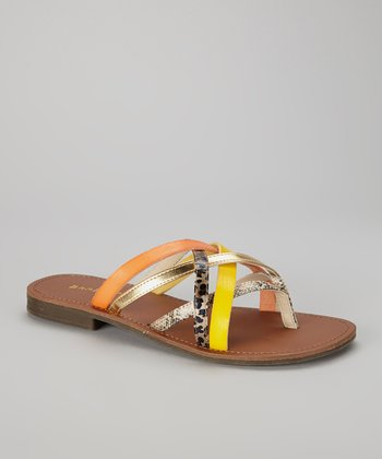 Yellow Cable-21 Sandal