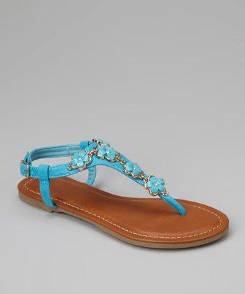 Turquoise Javier-02K Sandal