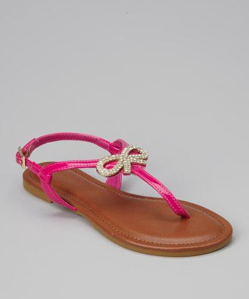 Fuchsia Patent Madalyn-08K Sandal