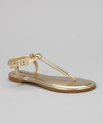 Gold Madalyn-09K Sandal