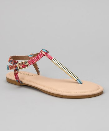 Nude & Multi Madalyn-09K Sandal