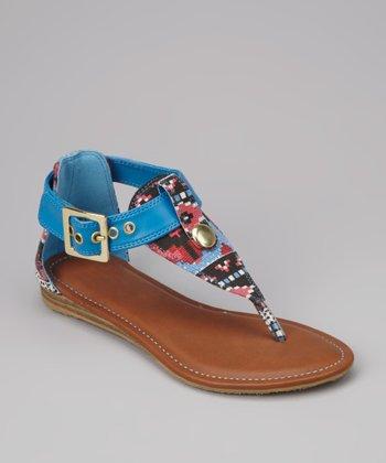 Blue Nevina-01K Sandal