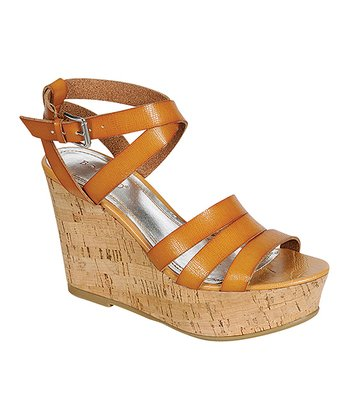 Chestnut Pippa Wedge Sandal