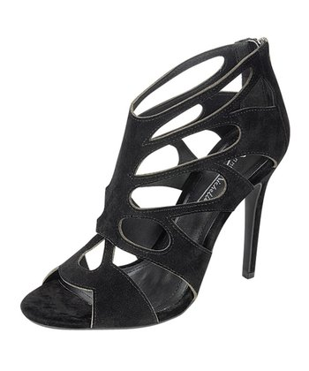 Black Caged Rapture Shoe