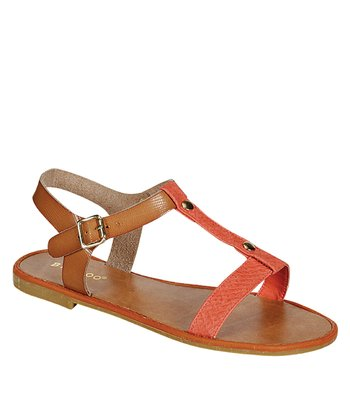 Coral Woodberry Sandal