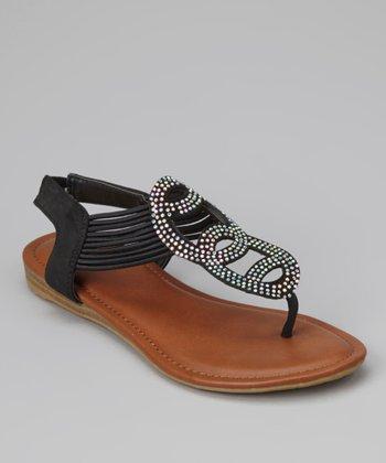 Black Nevina-02K Sandal