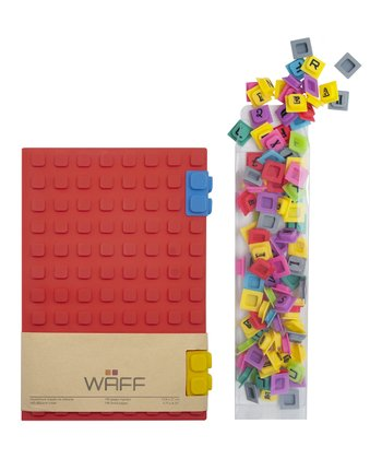 Red WAFF Book & Cube Set