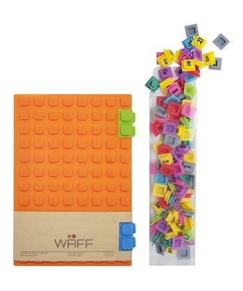 Orange WAFF Book & Cube Set
