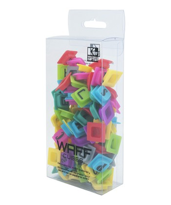 WAFF Alphabet Cubes Set