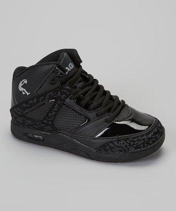 Shaq Black & Silver Shaq Sneaker