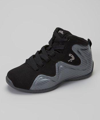 Shaq Black & Silver Shaq Morph High-Top Sneaker