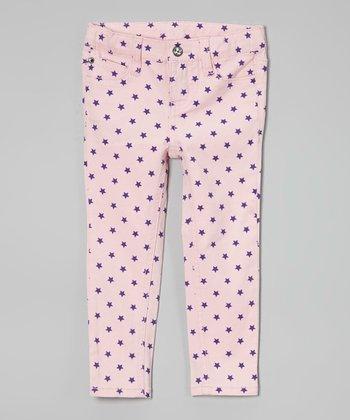 Freestyle Revolution Pink Star Maki Skinny Jeans - Toddler & Girls
