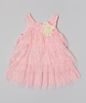Pink Lace Dress - Infant & Toddler