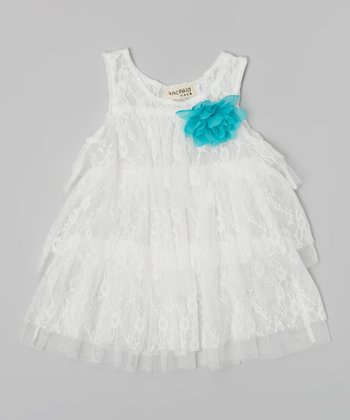 White Lace Dress - Infant & Toddler