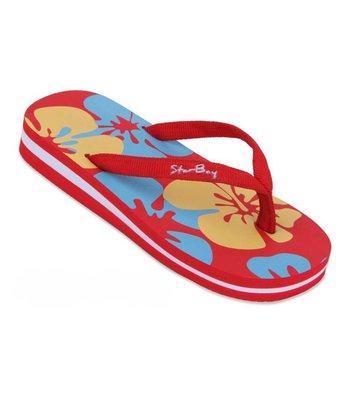 Star Bay Red Hawaiian Flip-Flop