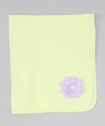 Lime Flower Blanket