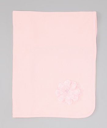 Blush Flower Blanket