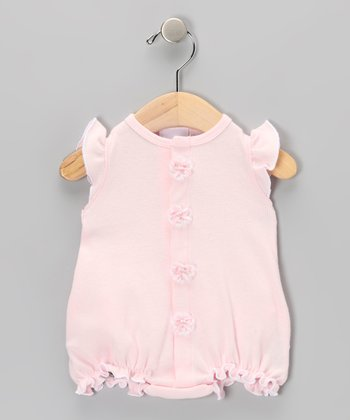 Too Sweet Pink Ruffle Bodysuit - Infant