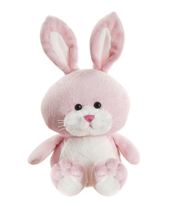 Pink Whimsy Bunny Plush Toy