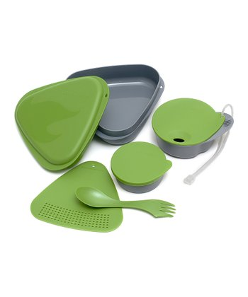Green Outdoor Mess Kit